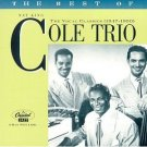best of nat king cole trio - vocal classics 1947 - 1950 CD 1996 blue note capitol new