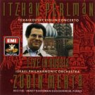itzhak perlman live in russia - tchaikovsky violin concerto with zubin mehta CD 1990 EMI used mint