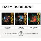 ozzy osbourne - diary of a madman bark at the moon the ultimate sin CD 3-disc set 1998 sony mint