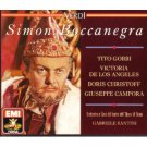 verdi - simon boccanegra - gobbi de los angeles christoff campora santini CD 2-discs 1990 EMI mint