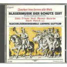 Brass Music of the Schutz Era - Ludwig Brass Ensemble Guttler CD 1985 delta capriccio japan mint