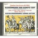 Brass Music of the Schutz Era - Ludwig Brass Ensemble Guttler CD 1985 delta capriccio japan mint