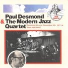 paul desmond & the modern jazz quartet CD 1993 sony used mint