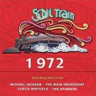 soul train 1972 - various artists CD 2000 rhino 14 tracks used mint