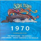 soul train 1970 - various artists CD 2000 rhino 14 tracks used mint