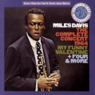 miles davis complete concert 1964 my funny valentine + four & more 2CD 1992 sony legacy used mint