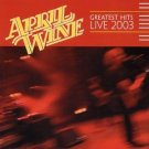 april wine - greatest hits live 2003 CD 2-discs 2003 civilian used mint