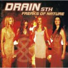 drain STH - freaks of nature CD 1999 enclave MVG island used mint