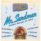 mr. sandman golden groups of 1954 CD 2001 universal readers digest new factory sealed