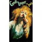 cyndi lauper in paris VHS 1987 CBS FOX 91 minutes 17 tracks used