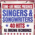 time-life music presents singers & songwriters 40 hits CD 2-discs 1990 warner time life