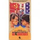 no retreat no surrender - kurt mckinney jean-claude van damme VHS 1990 R&G 90 mins used mint