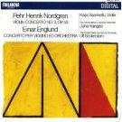 nordgren violin concerto no.3 op.53 + englund concerto per violino ed orchestra CD 1986 finlandia