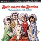 bach meets the beatles - variations in the style of bach CD 1984 proarte intersound japan used