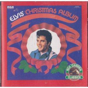 elvis presley - elvis' christmas album CD 1987 RCA camden 10 tracks used mint