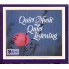quiet music for quiet listening - roger williams piano CD 4-discs 1984 readers digest mint