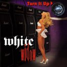 white widow - turn it up CD 2000 metal mayhem 10 tracks used mint