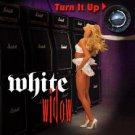 white widow - turn it up CD 2000 metal mayhem 10 tracks used mint