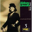 abbey lincoln - you gotta pay the band CD 1991 polygram gitanes BMG Direct used mint