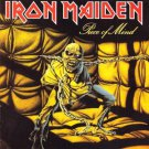 iron maiden - piece of mind CD 2-discs 1983 1995 castle used near mint