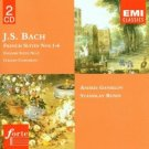 bach french suites nos. 1-6 - andrei gavrilov and stanislav bunin CD 2-discs 1996 EMI used mint