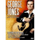 george jones live in concert DVD 2004 BCI eclipse brentwood 14 tracks used mint