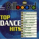 1984 billboard top dance hits - various artists CD 1998 rhino wea 10 tracks used mint