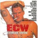 ecw extreme music - various artists CD 1998 CMC international BMG slab used mint