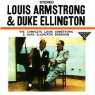 complete louis armstrong & duke ellington sessions CD 1990 capitol blue note used mint