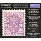 burlesque trombone and romantic trombone concertos - christian lindberg CD 2-discs 1995 bis