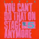 frank zappa - you can't do that on stage anymore vol.5 CD 2-discs 1992 rykodisc 1995 zappa used mint