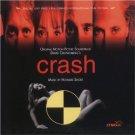 crash original motion picture soundtrack - howard shore CD 1997 milan used mint