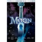 merlin - sam neill helena bonham carter DVD 1998 hallmark lions gate used mint