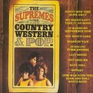 supremes sing country western & pop CD 1994 motown 11 tracks used mint