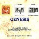 genesis - selling england + lamb lies down on broadway I & II CD 3-picture discs boxset 1991 virgin