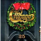 chicago christmas album - 25 CD 1998 chicago records 14 tracks used mint