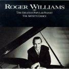 roger williams - artist's choice CD 2-disc box 1992 MCA used mint