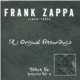 frank zappa - FZ original recordings - steve vai archives vol 2 CD 1995 rykodisc 17 tracks used mint
