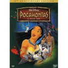 pocahontas 10th anniversary edition DVD 2-discs 2005 disney used mint