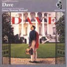 original soundtrack from dave - james newton howard CD 1993 giant warner used mint