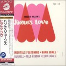 meredith wilson's here's love featuring hank jones kenny burrell milt hinton CD 2002 argo japan new