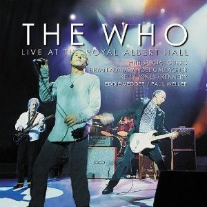 the who - live at the royal albert hall SACD 2003 SPV DSD 3-discs used mint