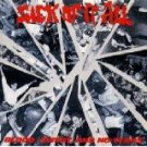 sick of it all - blood sweat and no tears CD 1989 in-effect 19 tracks used