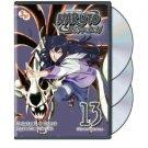 naruto shippuden 13 episodes 154 - 166 DVD 3-discs 2013 viz media used mint