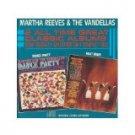 martha reeves & the vandellas - dance party + heat wave CD 1986 motown gordy used mint