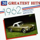 20 greatest hits 1962 - various artists CD 1987 highland used mint