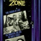 twilight zone - time enough at last & monsters are due on maple street VHS 1990 CBS fox used