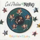 carl perkins and NRBQ - boppin' the blues CD 1990 columbia 13 tracks used mint