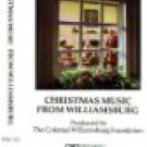 christmas music from williamsburg produced by colonial williamsburg foundation CD 1981 17 tracks