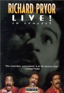 richard pryor - live! in concert DVD 1998 MPI used mint